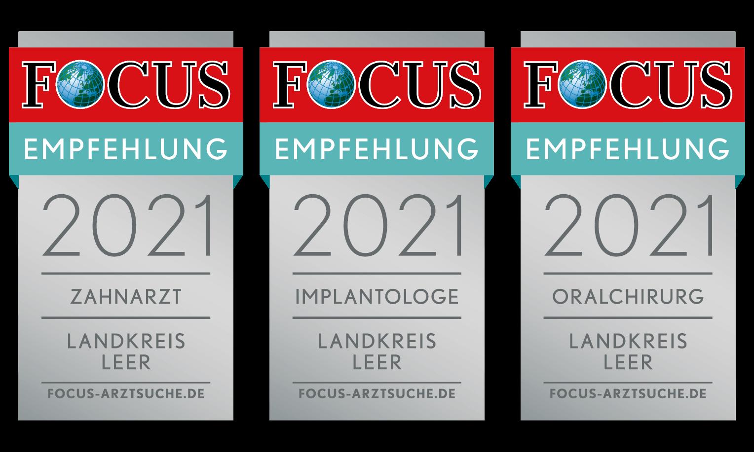 Dr. Hagen F. Wiegand der Zahnklinik Bunde – geführt als empfohlener Fachzahnarzt für Oralchirurgie und Implantologie im Landkreis Leer auf der FOCUS-Arztsuche.